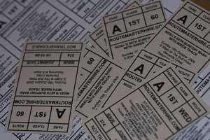 custom printed bus tickets
