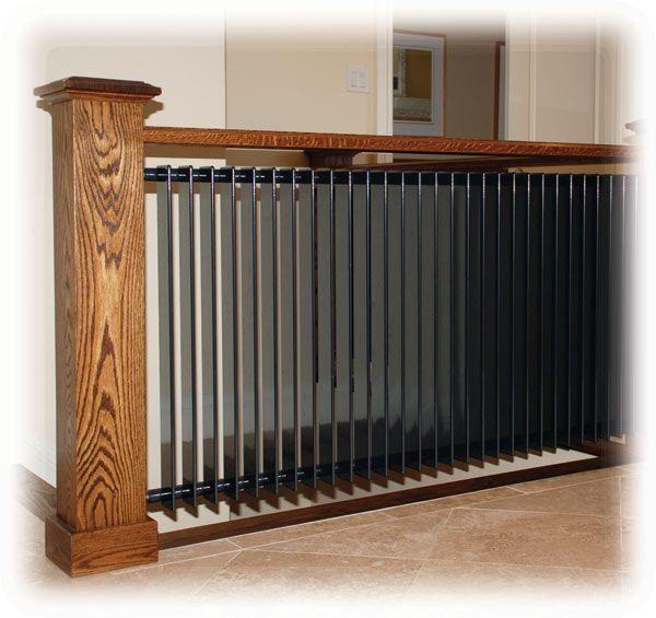 a radiator as part of the railing ... a two-fer! Column Radiators: R Series - Runtal Radiators