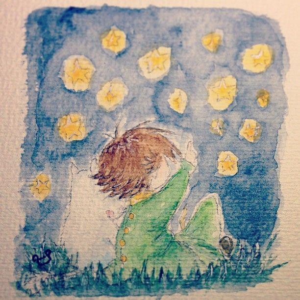 أدري يشبه ستايل الرسمة القبلية، بس اشتهيت أرسم بعد ما خلصت مذاكرة… :$ #moomin #muumit #snufkin #snusmumriken #watercolor #ムーミン #スナフキン #水彩画