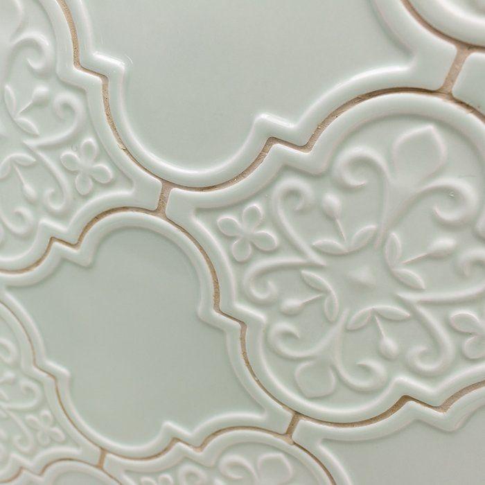 Vintage Florid Lantern 6 X 7 Ceramic Field Tile In 2020 Decor Ivy Hill Tile Tiles