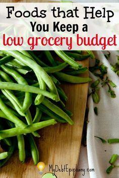Lebensmittel, die Ihnen helfen, ein niedriges Lebensmittelbudget zu erhalten