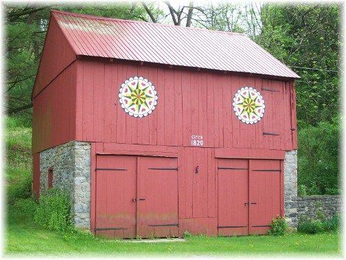 Red barn in Berks County, PA