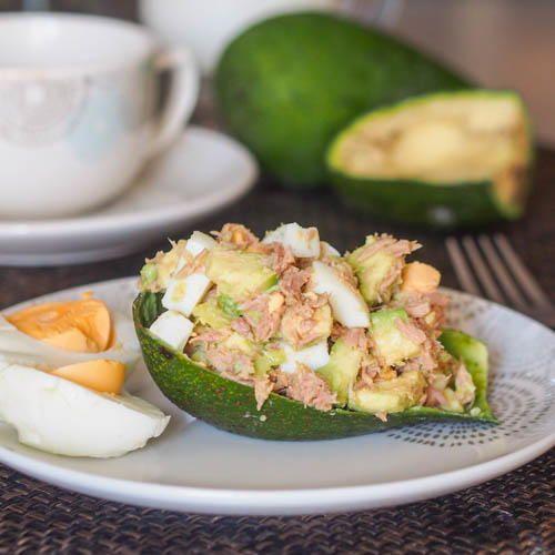 Avocado Tuna Egg Salad | FaveGlutenFreeRecipes.com
