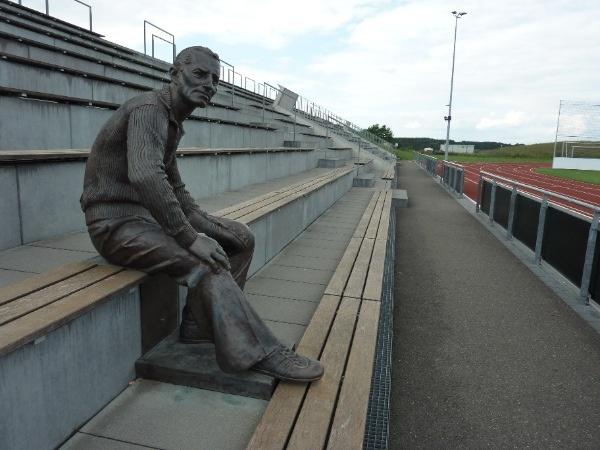 Adi (Adlof) Dassler in the Adi Dassler stadium