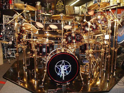 Neil Peart's 30th Anniversary Drum Kit