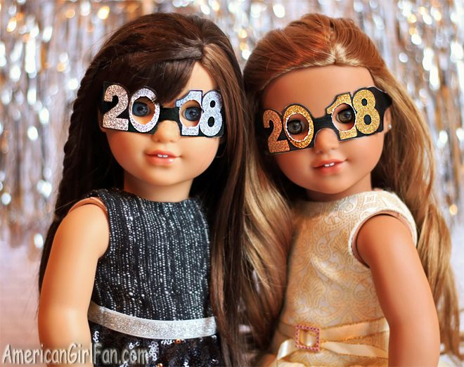 Printable 2018 Glasses For American Girl Dolls & WellieWishers!