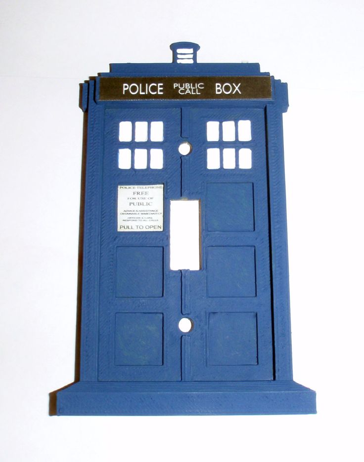 17 best ideas about light switch plates on pinterest for Tardis light switch cover