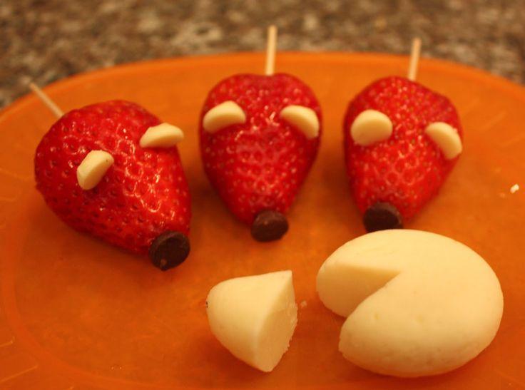 5 Postres divertidos con fresas para niños