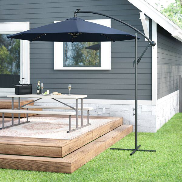 Ava 10 Cantilever Umbrella In 2020 Offset Patio Umbrella Patio Patio Umbrellas