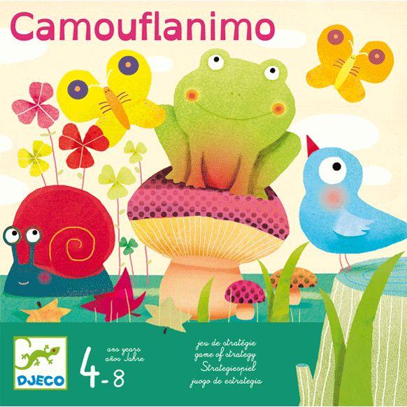 Camouflanimo társasjáték kis kerti barátokkal Djeco | Pandatanoda.hu Játék webáruház