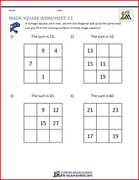 how to make 3 3 magic square