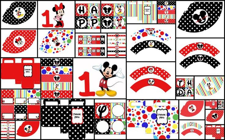 10 best images about mickey mouse birthday printables on pinterest mickey mouse playhouse. Black Bedroom Furniture Sets. Home Design Ideas