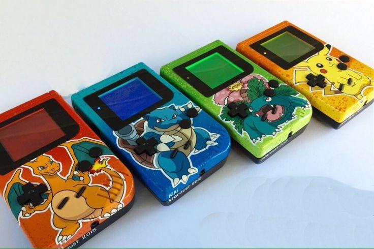 Beautiful custom gameboys #Pokemon #Nintendo
