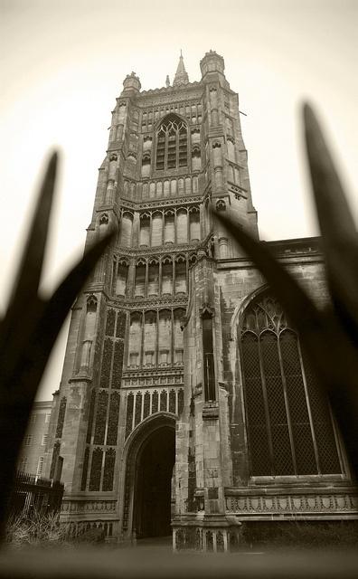 St Peter Mancroft Church [Norwich UK] in the mist