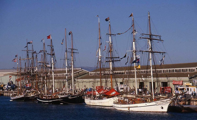 Tall Ships Port Adelaide 11 April 1988 by Adelaide Archivist, via Flickr
