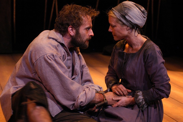 a look into the crucible's john Why i wrote the crucible by arthur miller  who would become the central characters in the crucible he related to john proctor, who, in spite of an imperfect character, was able to fight.