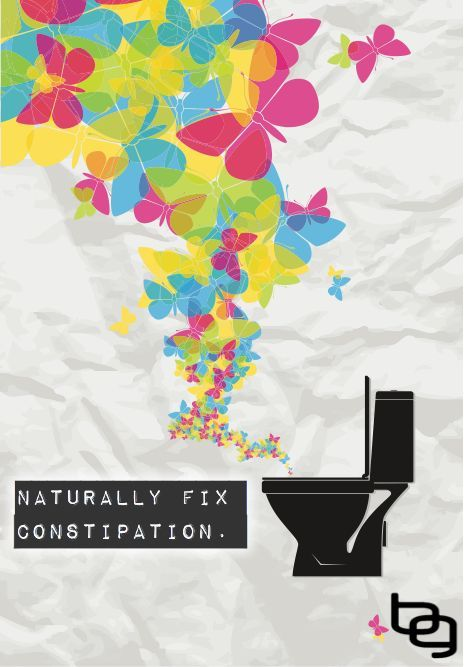 """An Easy Three Step, 42 Cent Way To Naturally Fix Constipation. ---- Constipation sucks. ---- Not only can walking around all day with fecal matter stuck up inside you put a scowl on your face from gas, bloating and that constant time-sucking nag to find a bathroom and """"try to go"""" again, but long term constipation can create more serious complications such as hemorrhoids, anal fissures, rectal prolapse, and fecal impaction. Google any of those if you are curious. Not fun."""