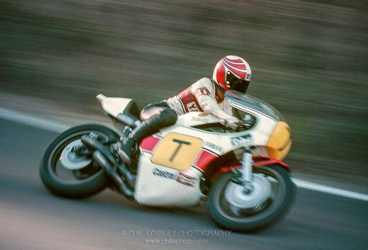 1976: Ikujiro Takai/Yamaha TZ750 (winner Australian Unlimited GP). MotArt: Bathurst Circuit, Australia by Phil Aynsley