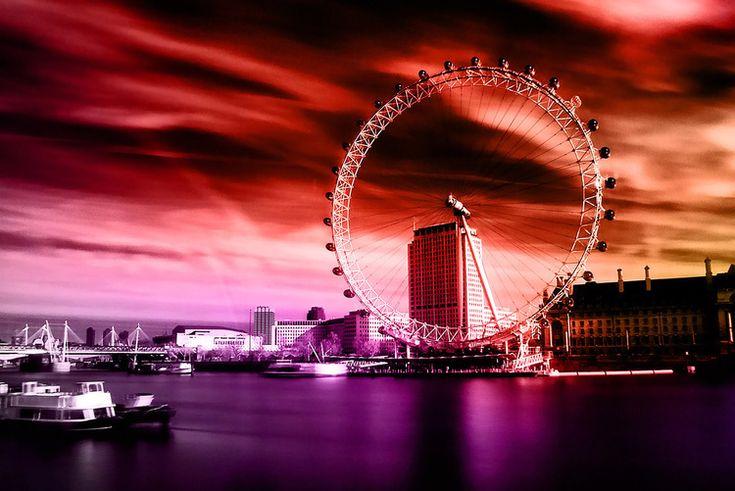 London Eye (Colours) Nicholas Gooden