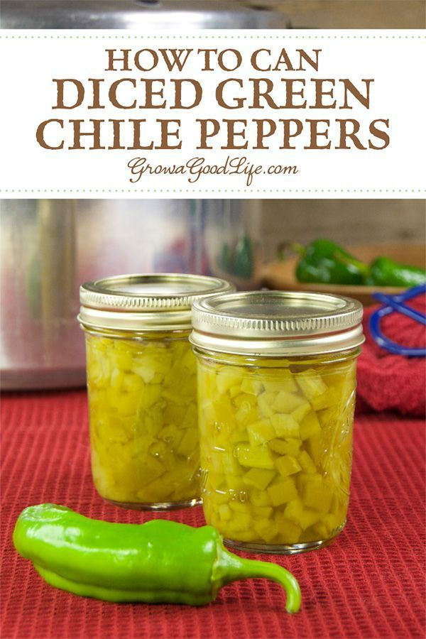 Canning Diced Green Chiles Recipe Stuffed Peppers Home