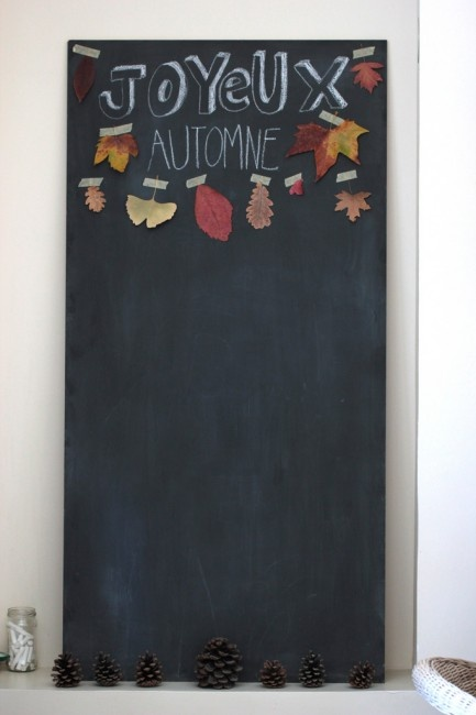 30 days of the inspired family, day 1: joyeux automne inspiration board / f blog - fawn
