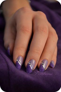 Nail art – Manucure «Velvet» (velours)   Tartofraises