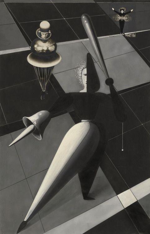 Oskar Schlemmer, Das Triadisches Ballett (Triadic Ballet); Spatial composition, c. 1926