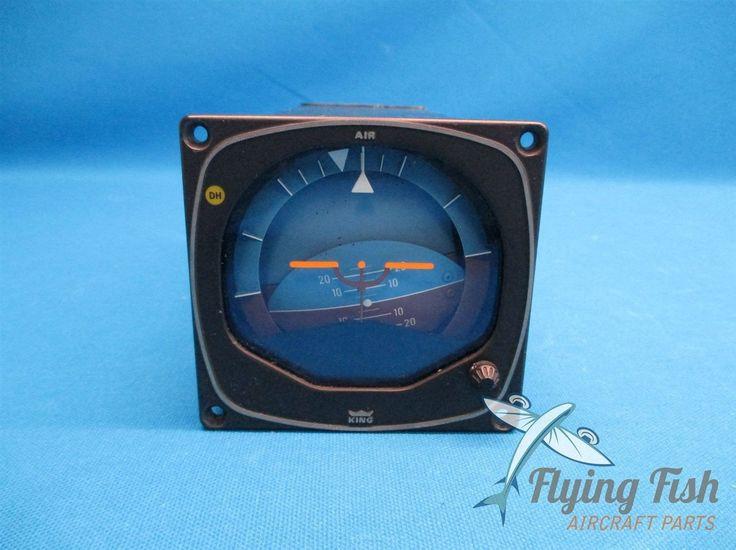 King KG258 Horizon Gyro Attitude Indicator 060002001 14