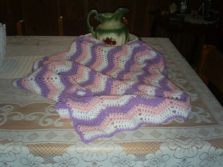 Ripple baby rug