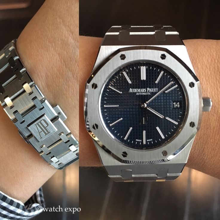 Fathers day gift ideas 16 pinterest audemars piguet royal oak stainless steel watch reference no 15202stoo1240st available now negle Image collections