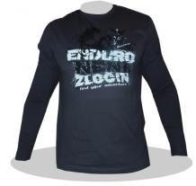 Fashion Rockway Enduro není zločin - tmavě šedá - dlouhý rukáv