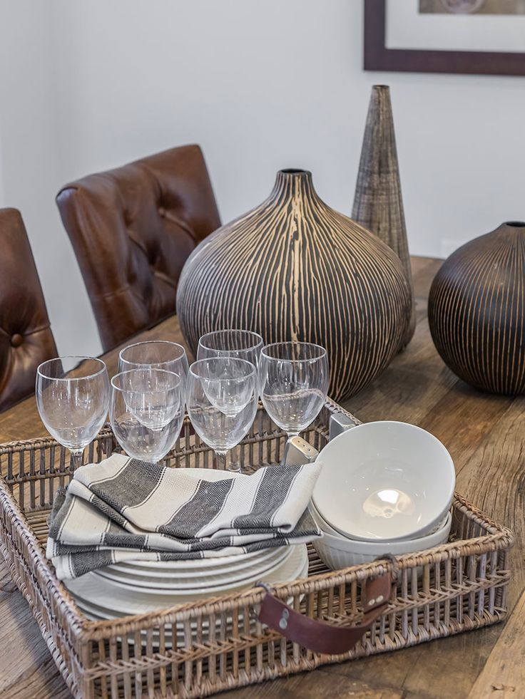 This #table #setting is from Ausbuild's Ellison display home. This table has an industrial inspired look. www.ausbuild.com.au.