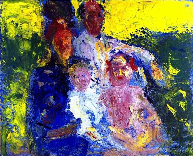Richard Gerstl-Schonberg Family, 1908 Richard Gerstl
