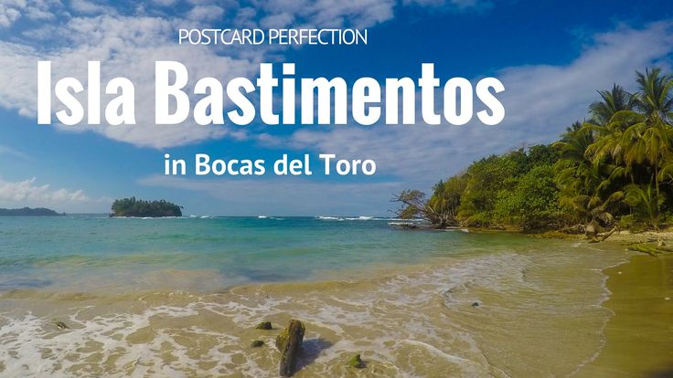 I've become a bit of a beach snob, but even I have to admit that Isla Bastimentos in Bocas del Toro is something special.
