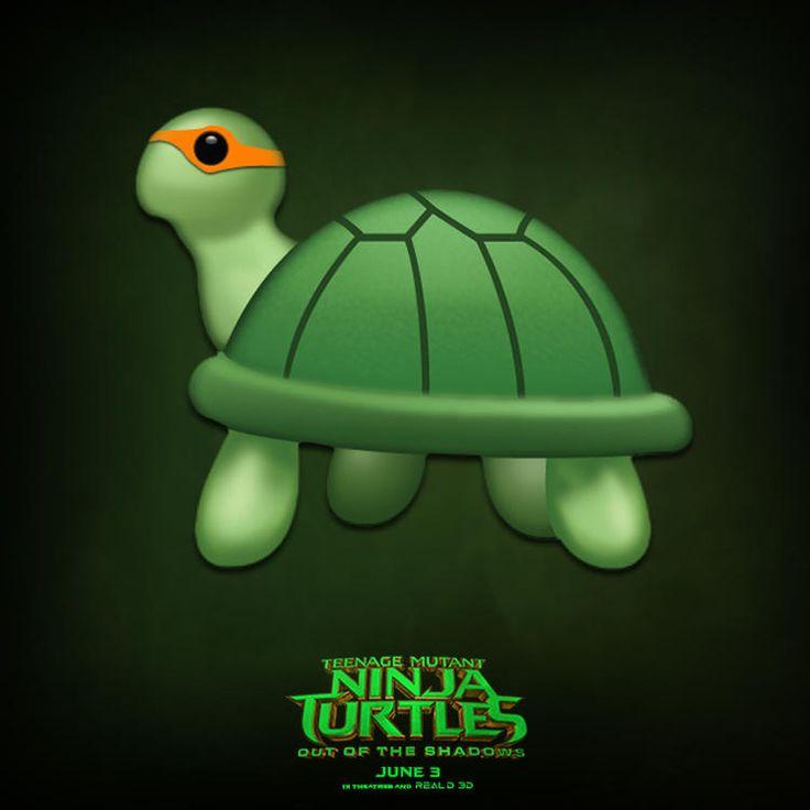 As Tartarugas Ninjas 2 - Liberados novos pôsteres minimalistas do filme! - Legião dos Heróis