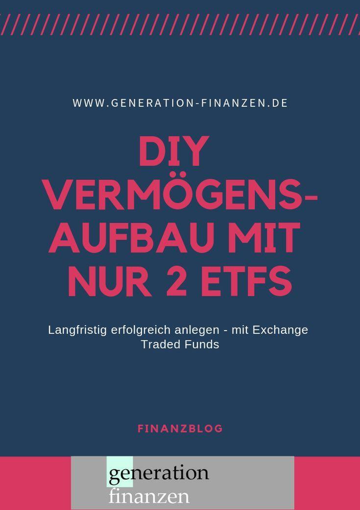 #DIY #Vermögensaufbau – mit nur 2 #ETFs