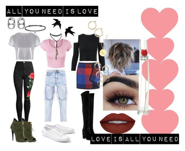 """All You need is love❤️❤️❤️"" by angelaabril on Polyvore featuring moda, Related, Barbara Bui, Lacoste, Aquazzura, Chupi, Marc Jacobs, BERRICLE y Nordstrom"