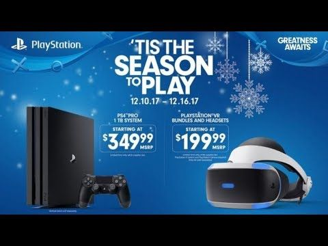 PS4 PRO Price Cut to $349 for the Holidays - PS VR Price Drops To $199 #ps4 #games #gaming