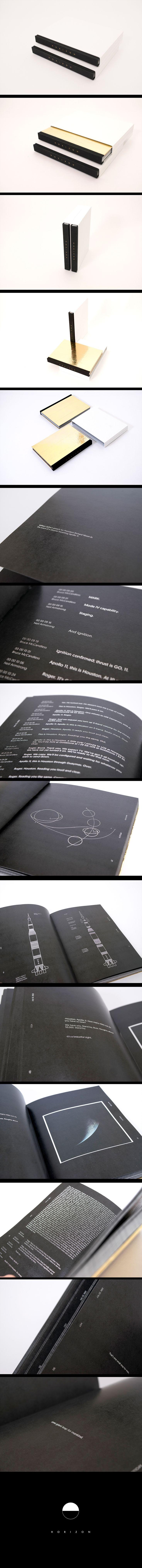 Horizon, un proyecto sobre el viaje más emocionante de la histoira.Un libro que reune las conversaciones entre módulo de mando y el centro de control en Houston.