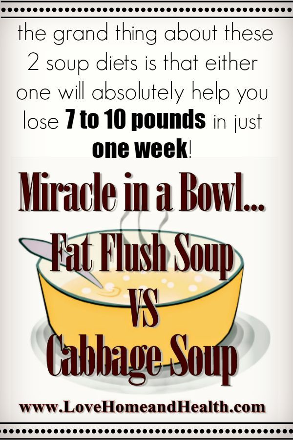 weight loss soup cleanse