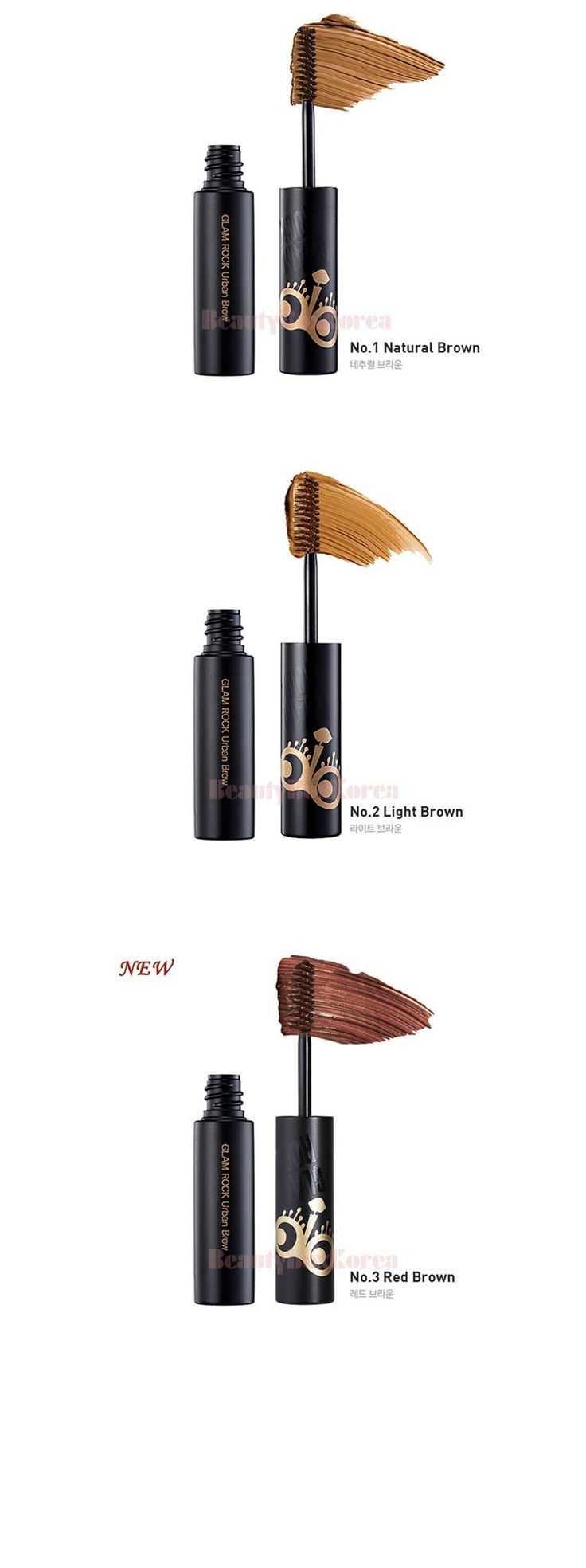 TOO COOL FOR SCHOOLl Glam Rock Urban Brow 5ml Best deal at Beauty Box Korea TOO COOL FOR SCHOOLl Glam Rock Urban Brow 5ml    Diagonal cutting brush easy to color any shape of eye brows easily. Give natural color and rich eye brow look. St