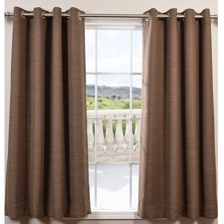 Bellino Grommet Single Panel Blackout Curtain