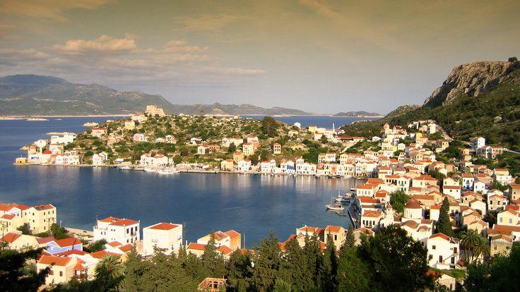 #Kasterlorizo Island, #Greece (Also #Castelorizo) the easternmost #Greek Island