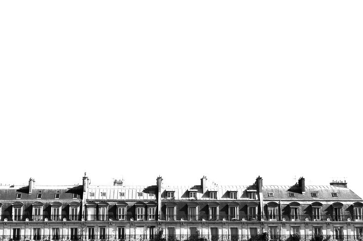 Rooftops view, Paris