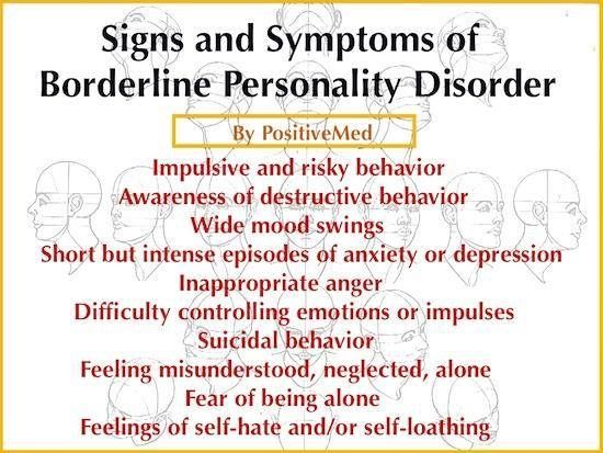 symptoms of borderline personality disorder in a relationship