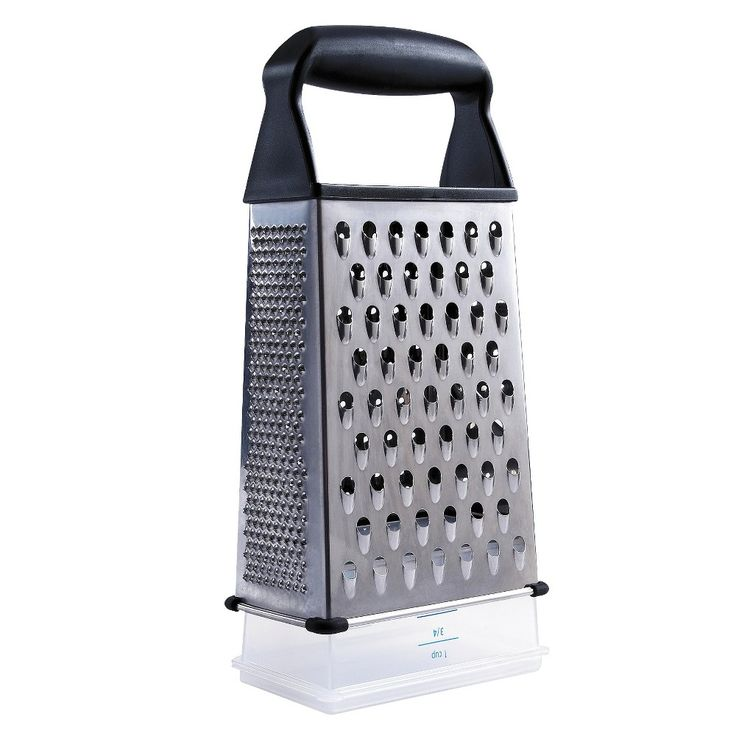 Captivating Oxo Softworks Box Grater, Black