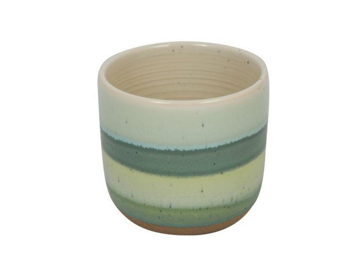 Keramik-Übertopf Piran D13,5xH15cm | Sortiment Dekorierte Keramik