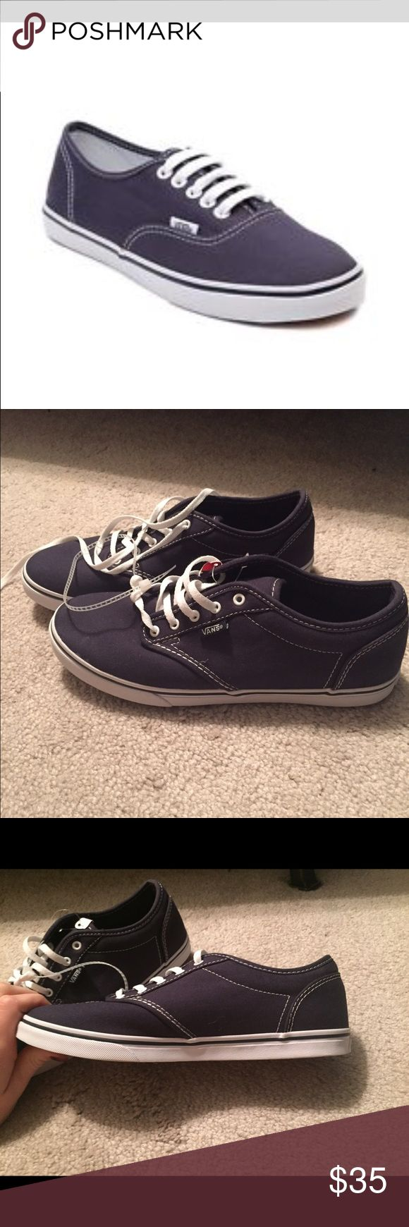 Women's Navy Vans Tb4r Canvas Sneakers. Size 7.5 BRAND NEW! Women's Navy Vans Tb4r Canvas Sneakers. Size 7.5 Vans Shoes Sneakers