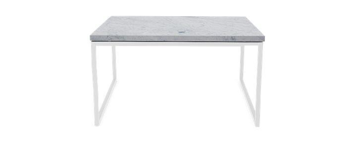 Como Sofabord 60x60 Low - Marmor