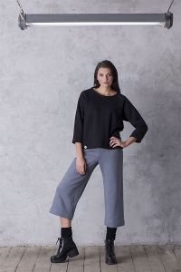 spodnie QUIET grafit